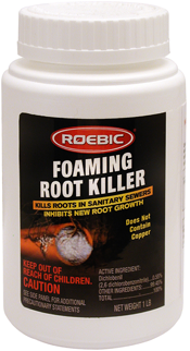 Foaming Root Killer Destroys Roots In A Home S Sewer Lines