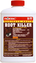 Roebic K-77 Root Killer